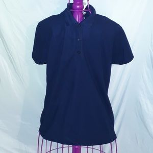 Womens Gilden Performance Large Polo Tee Shirt